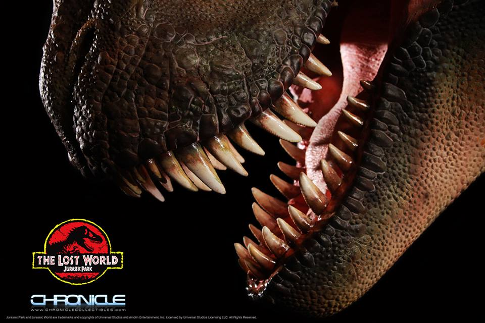 Chronicle Collectibles Jurassic Park Lost World T-Rex Bust ... T Rex The Lost World Jurassic Park