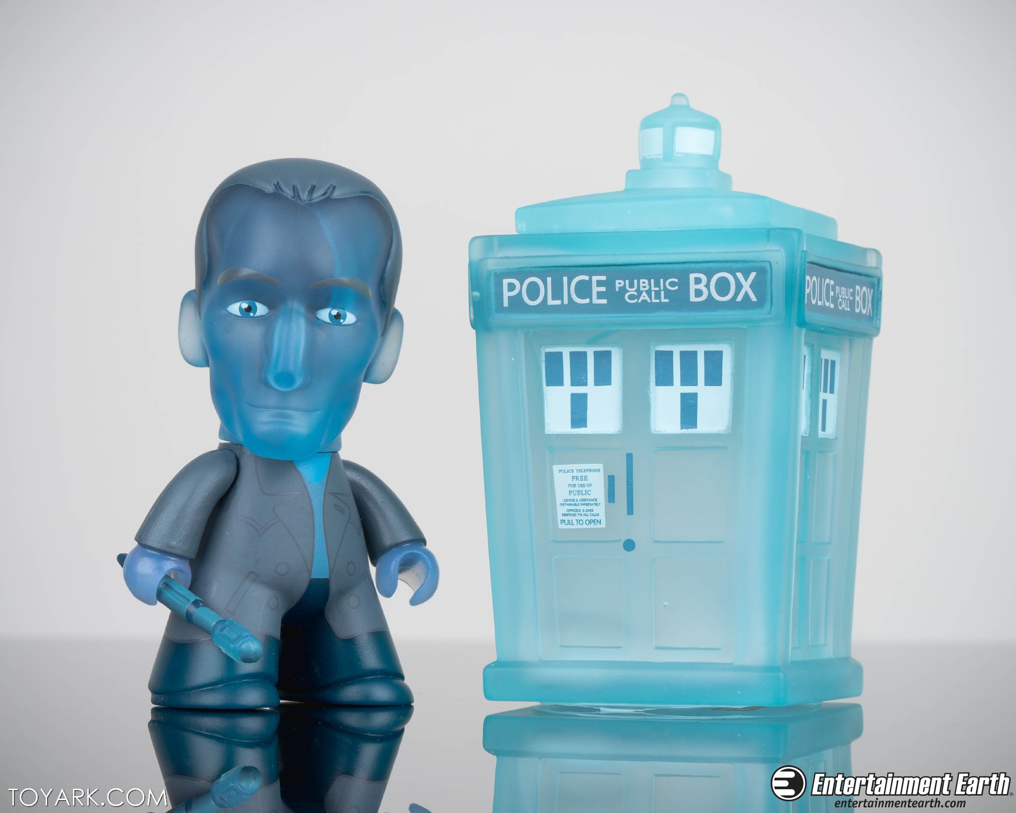 """Titans THE X-FILES Mini Series LANGLY 3/"""" Vinyl Action Figure Opened Blind Box"""