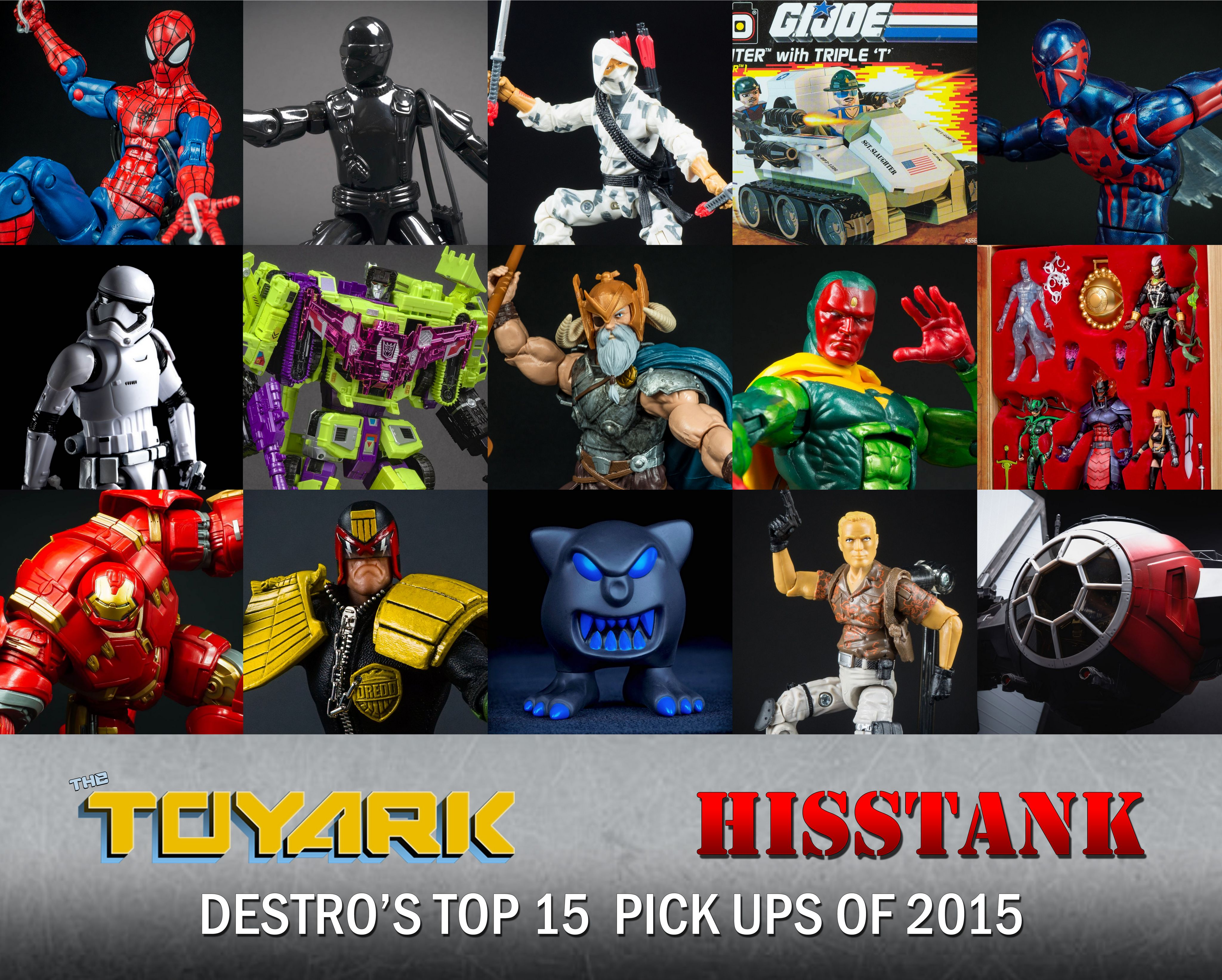 Destro Top 15 of 2015