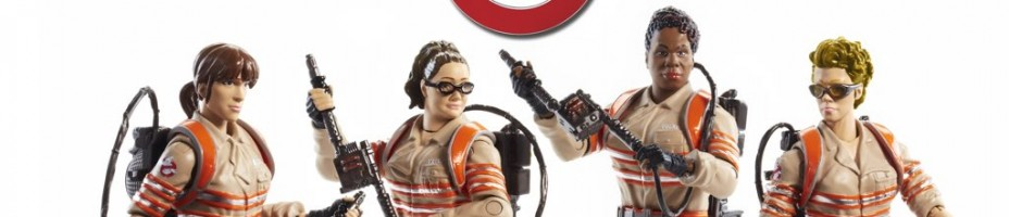 Mattel 6 Inch Ghostbusters 2016 Figures