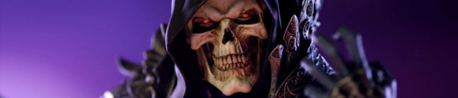Sideshow Skeletor Preview