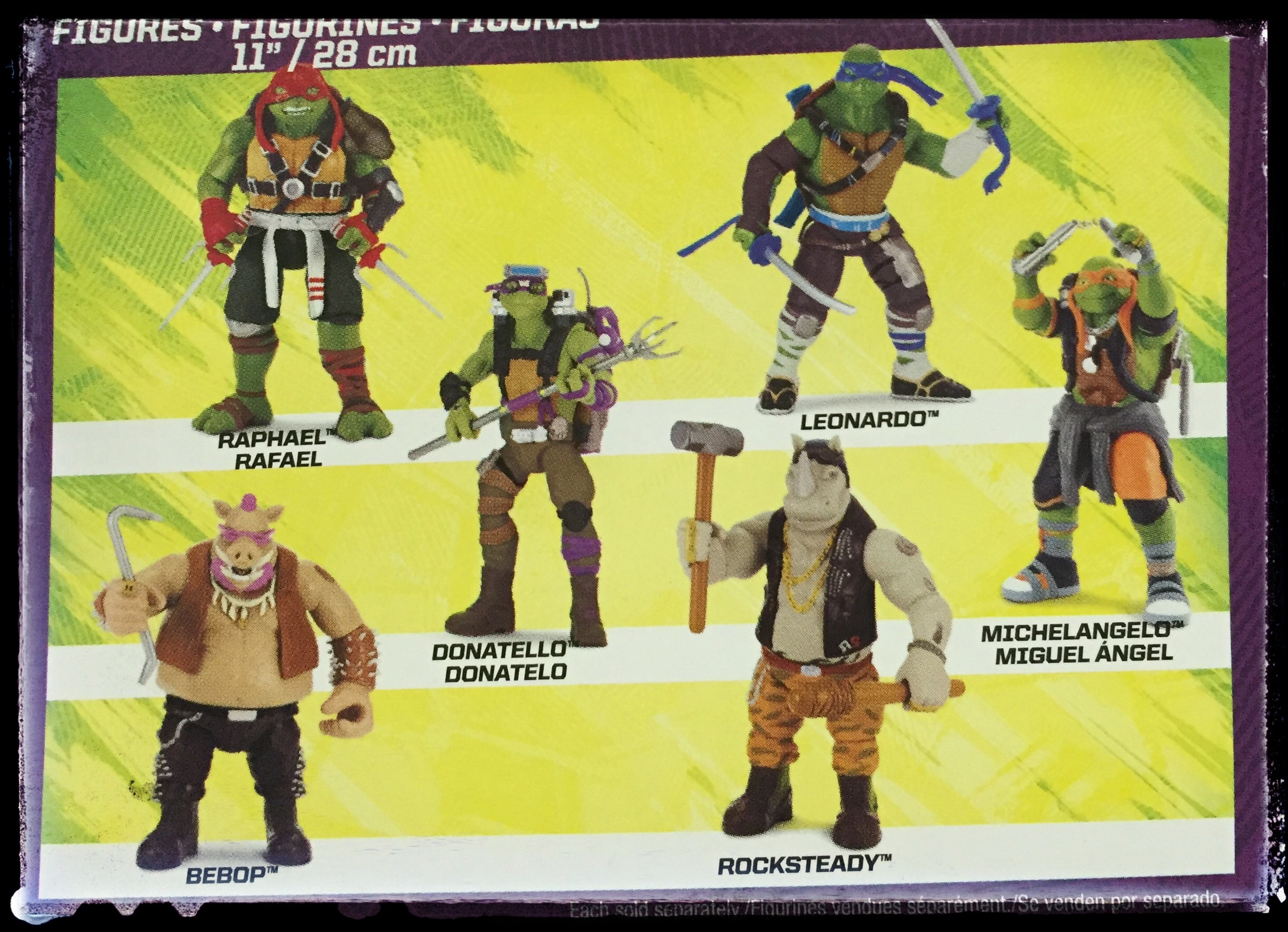 Ninja Turtles Out Of The Shadows Toys 1st Look The