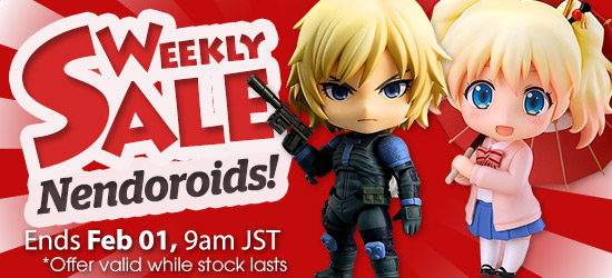 Weekly Sale 550 Nendoroid