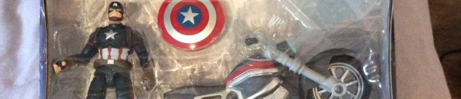 Captain America Marvel Legends Civil War Motor Cycle