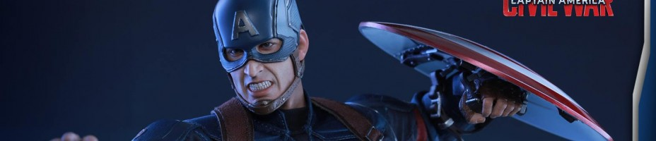 Civil War Captain America Hot Toys 004