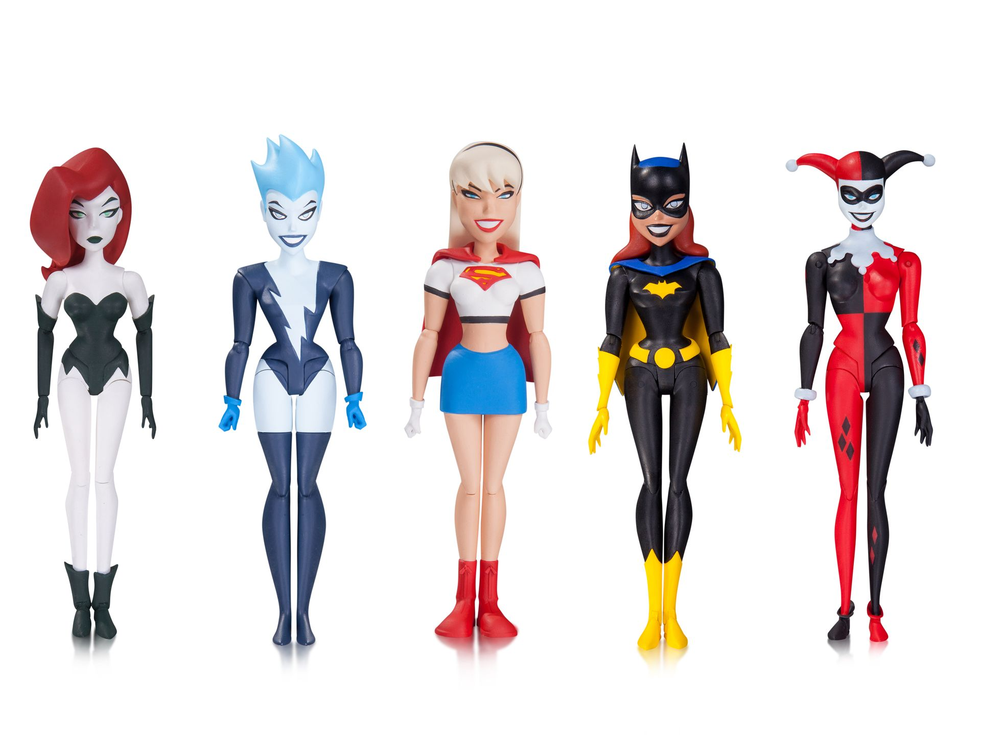 DCC Animated New Batman Adventures Female Figures