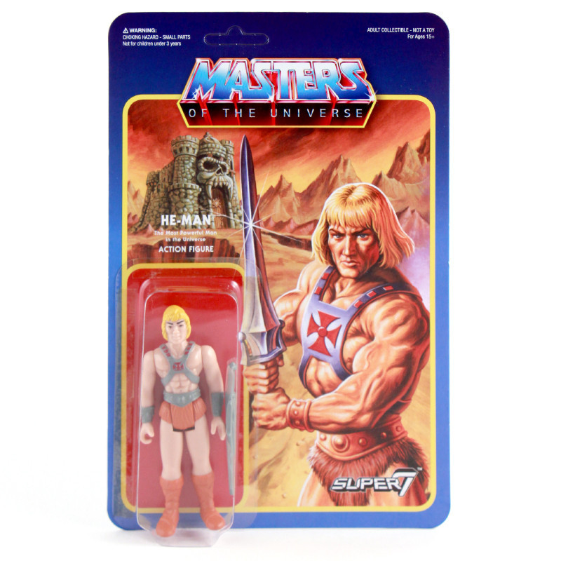 Pre Order The Masters Of The Universe Retro Action Figures