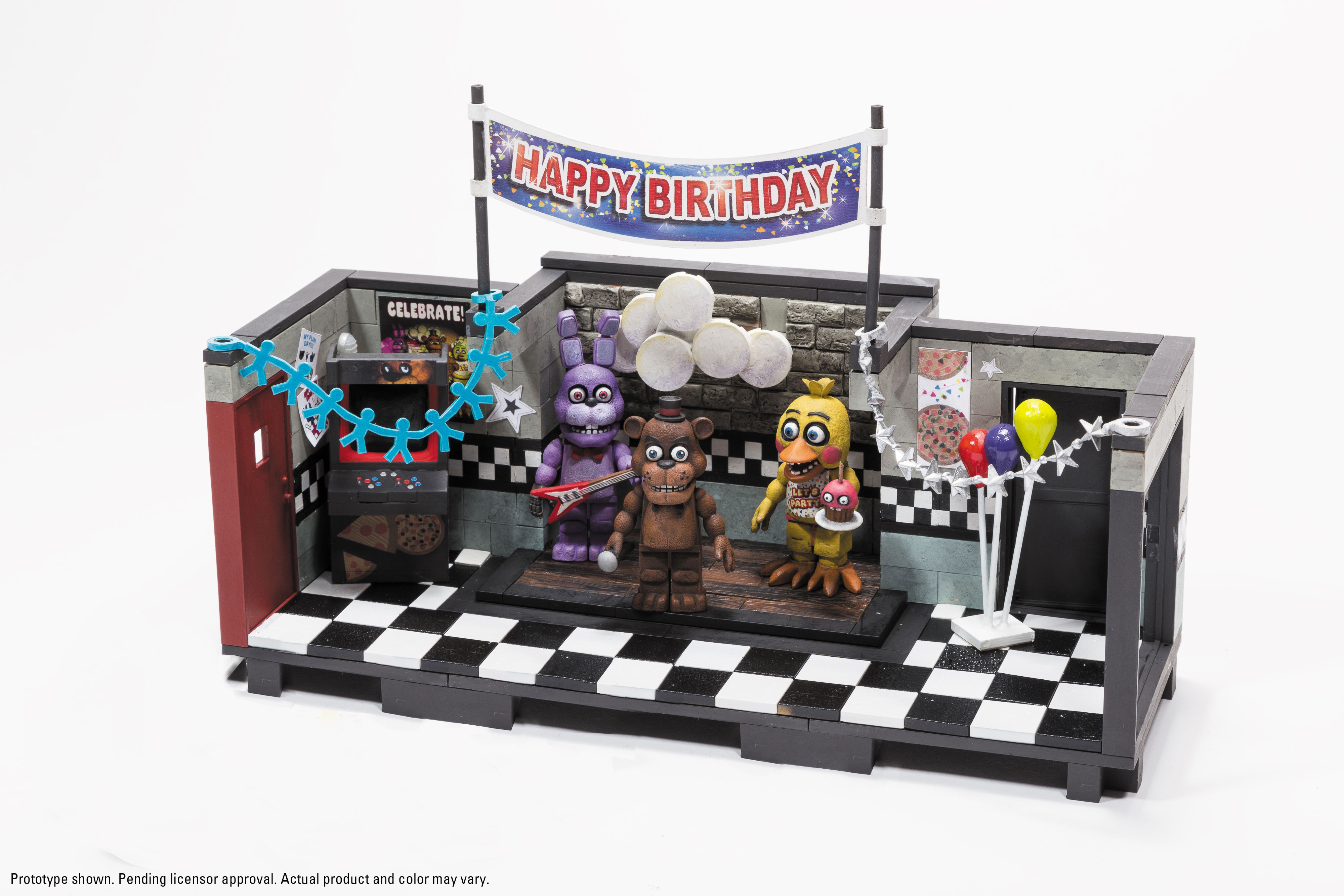 Building Toys Sets : Mcfarlane five nights at freddy s construction sets the