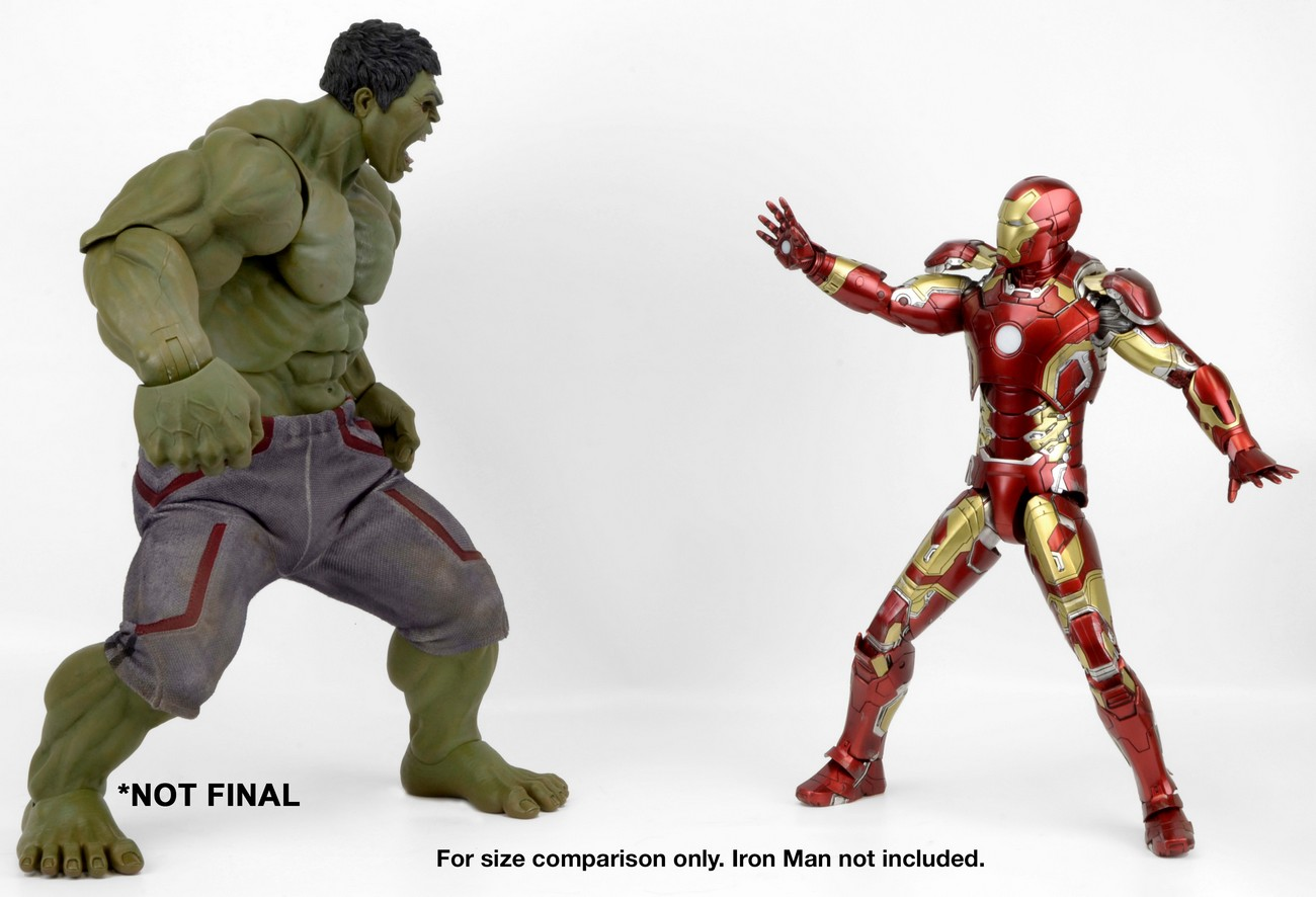Avengers age of ultron 14 scale hulk preview by neca the toyark neca avengers age of ultron hulk 004 publicscrutiny Images