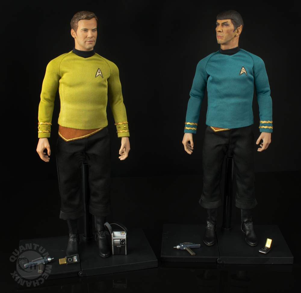 QMX Star Trek Captain Kirk and Spock 1