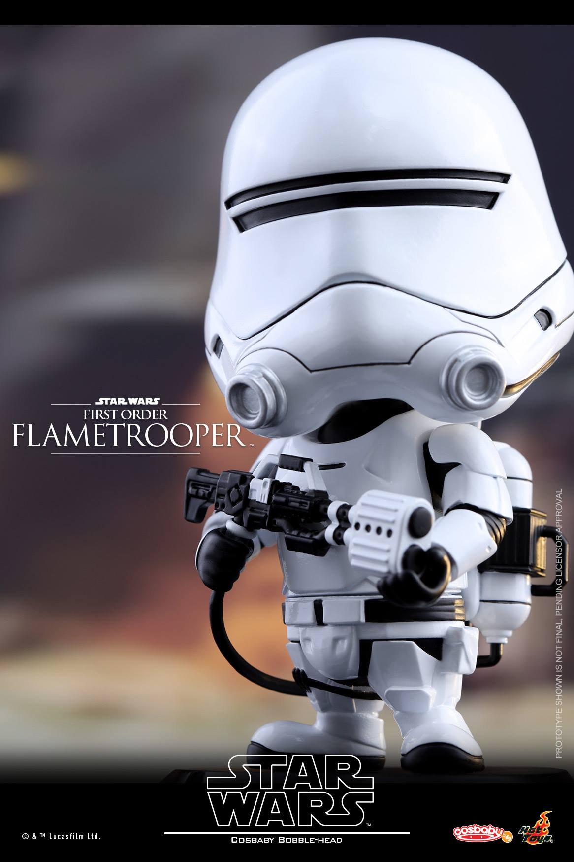 Star Wars Cosbaby Bobbleheads by Hot Toys - The Toyark - News