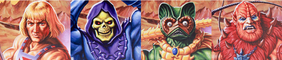 Super 7 ReAction MOTU Art