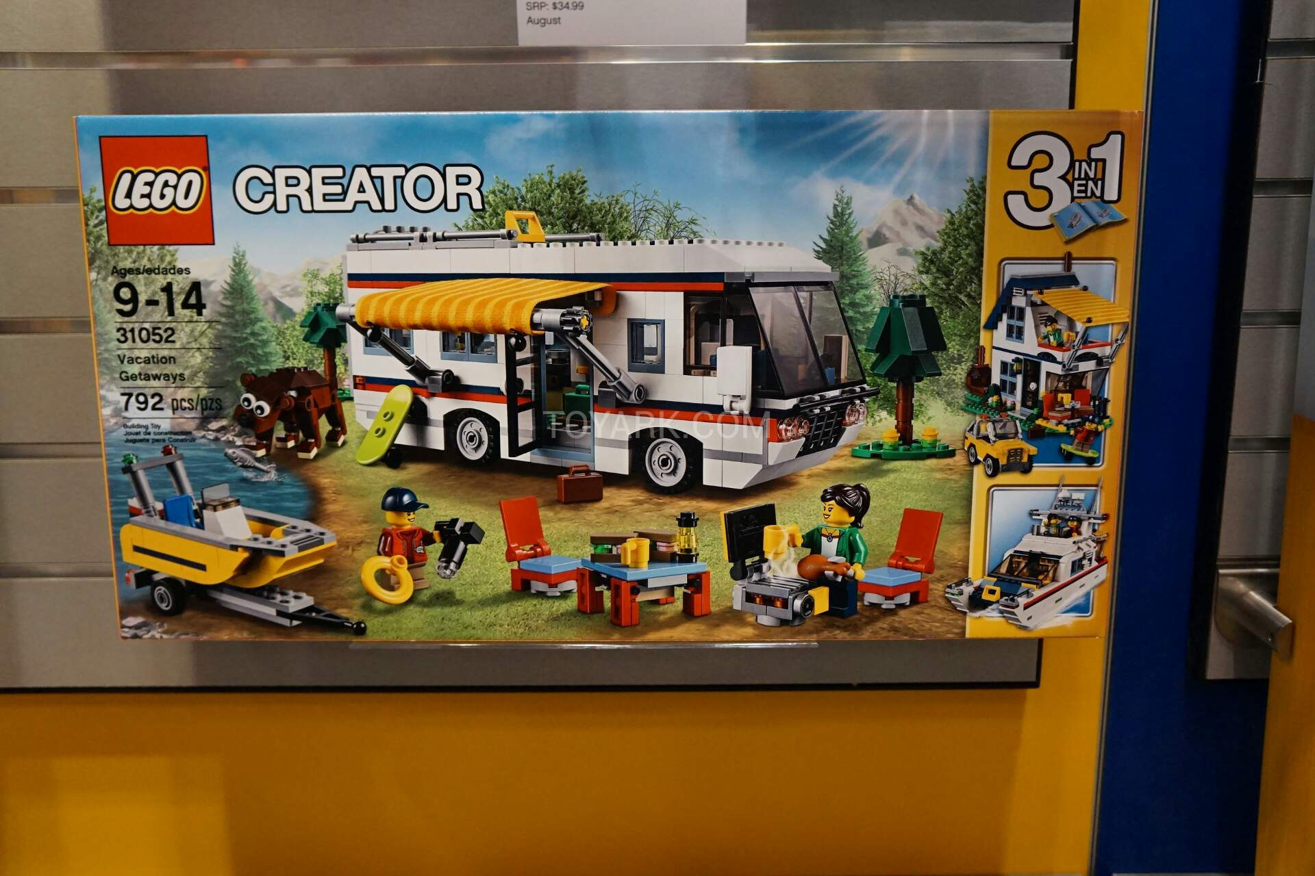 31052 vacation getaways creator brickpicker - Lego brick caravan a record built piece by piece ...