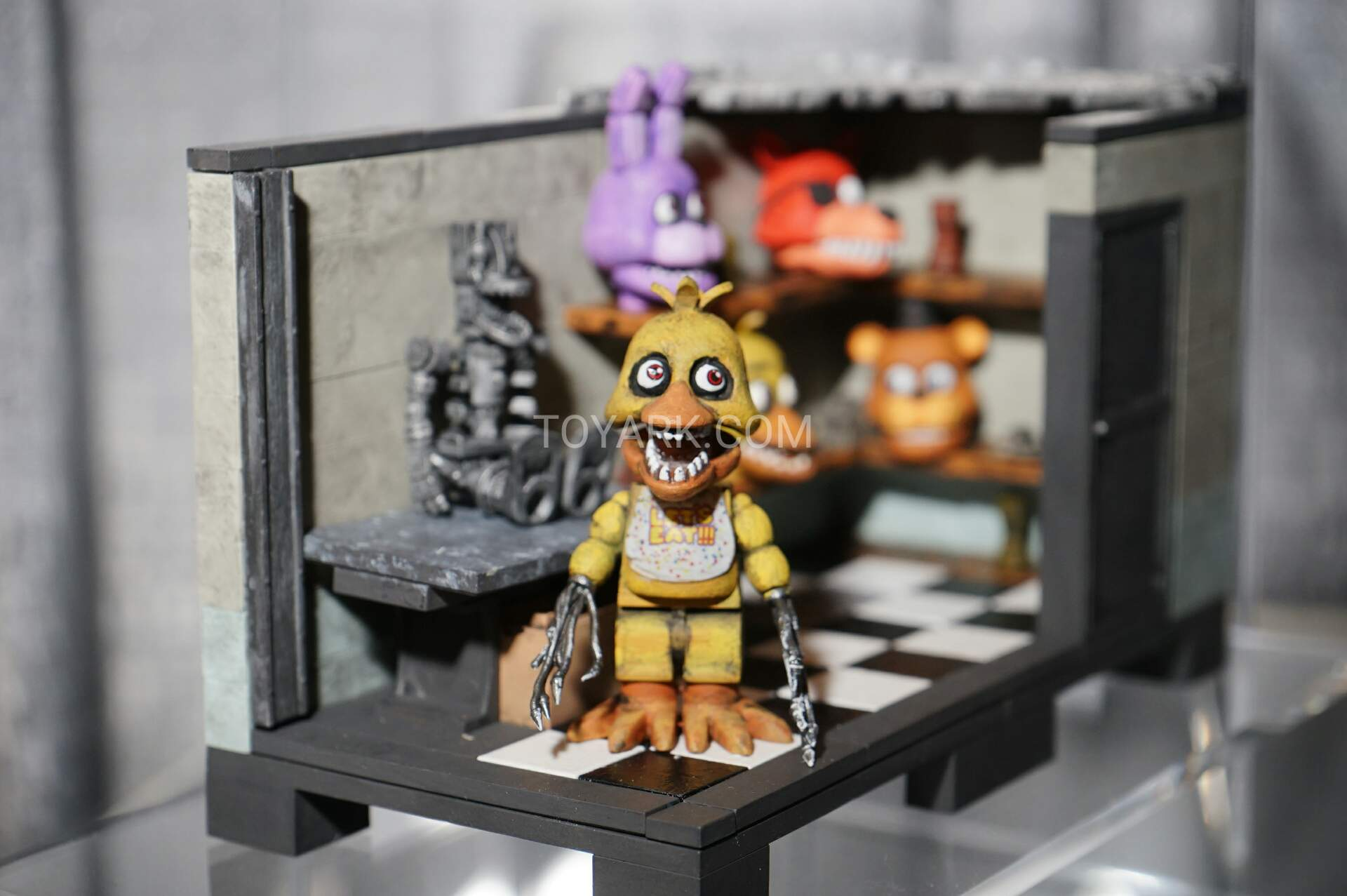 More five nights at freddy s construction sets coming soon - Tf 2016 Mcfarlane Five Nights Construction 009