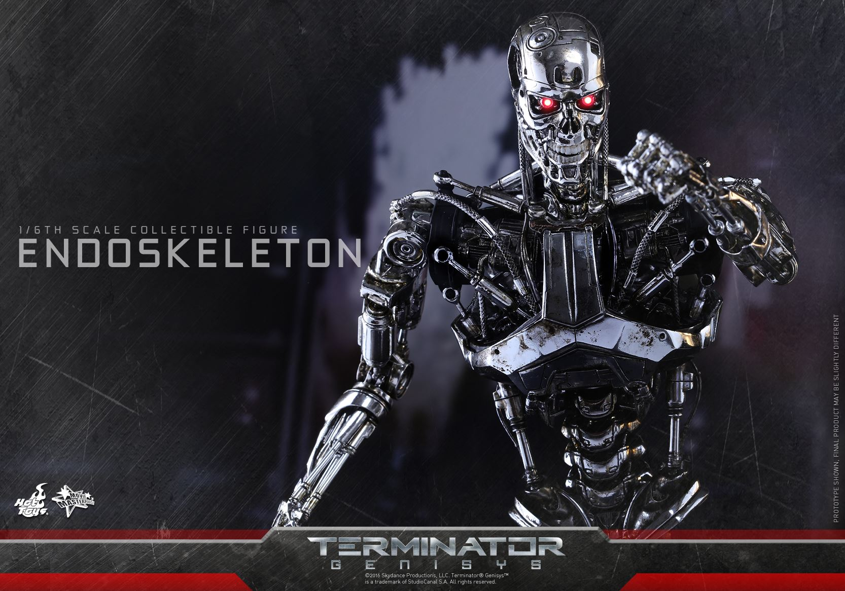 Terminator: Genisys T-800 Endoskeleton by Hot Toys