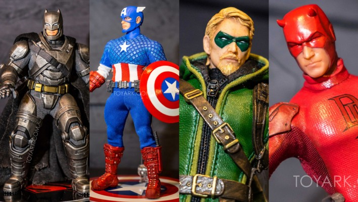 A Closer Look - Mezco One:12 Collective Marvel, DC & More