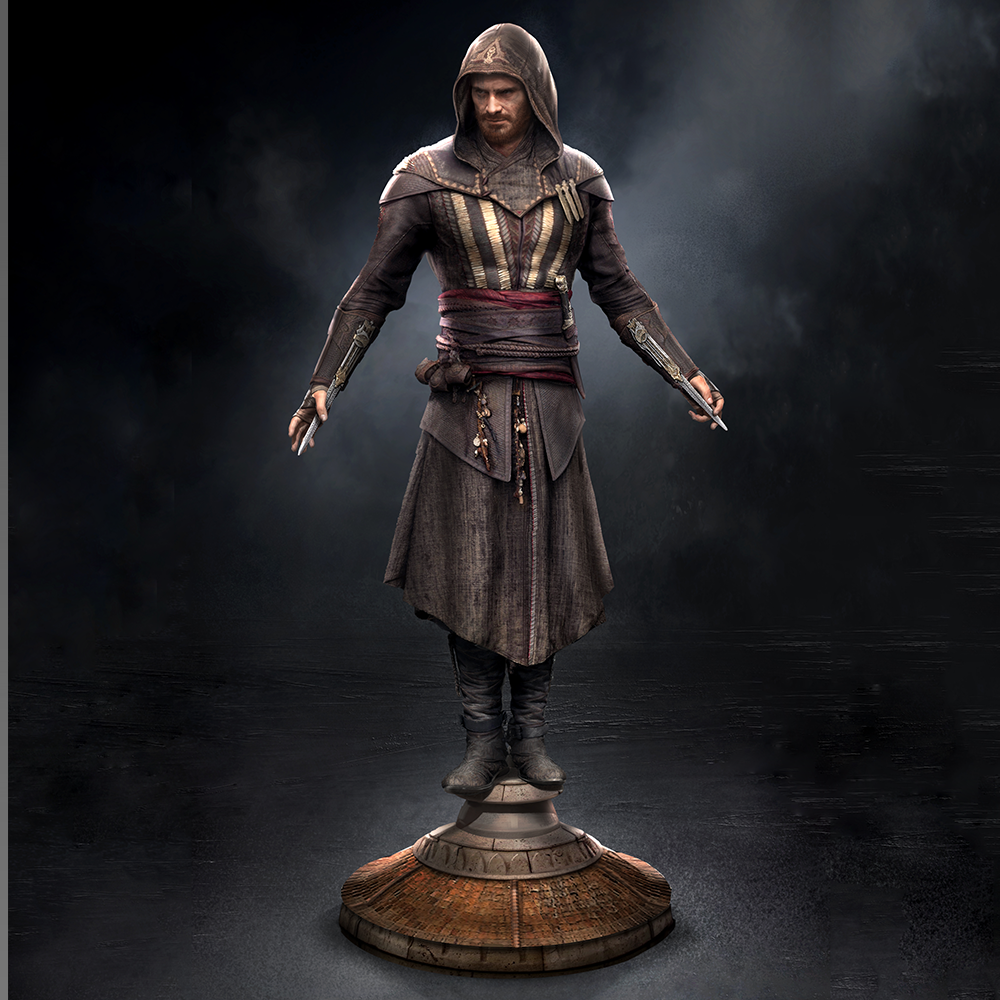 Assassins Creed Movie Aguilar Premiere Scale Statue 1 Assassins-Creed-Movie-Aguilar-Premiere-Scale-Statue-2