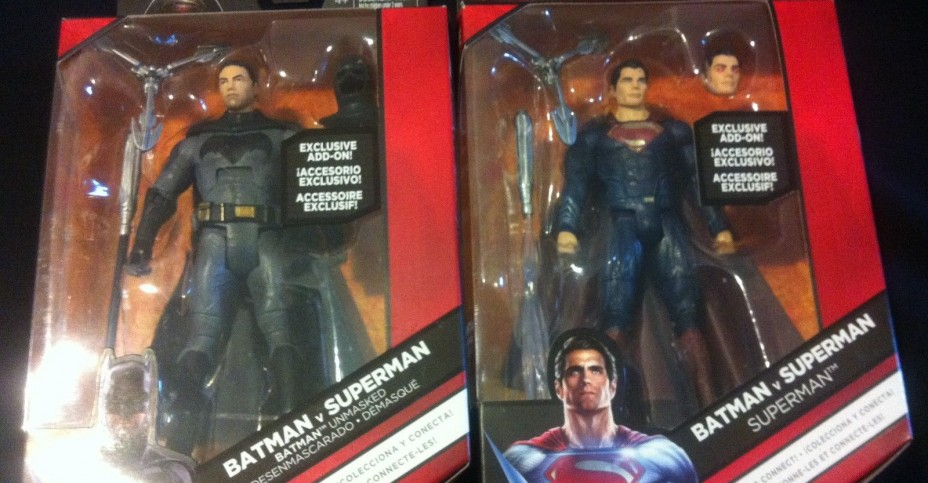 BvS Unmasked Batman and Heat Vision Superman