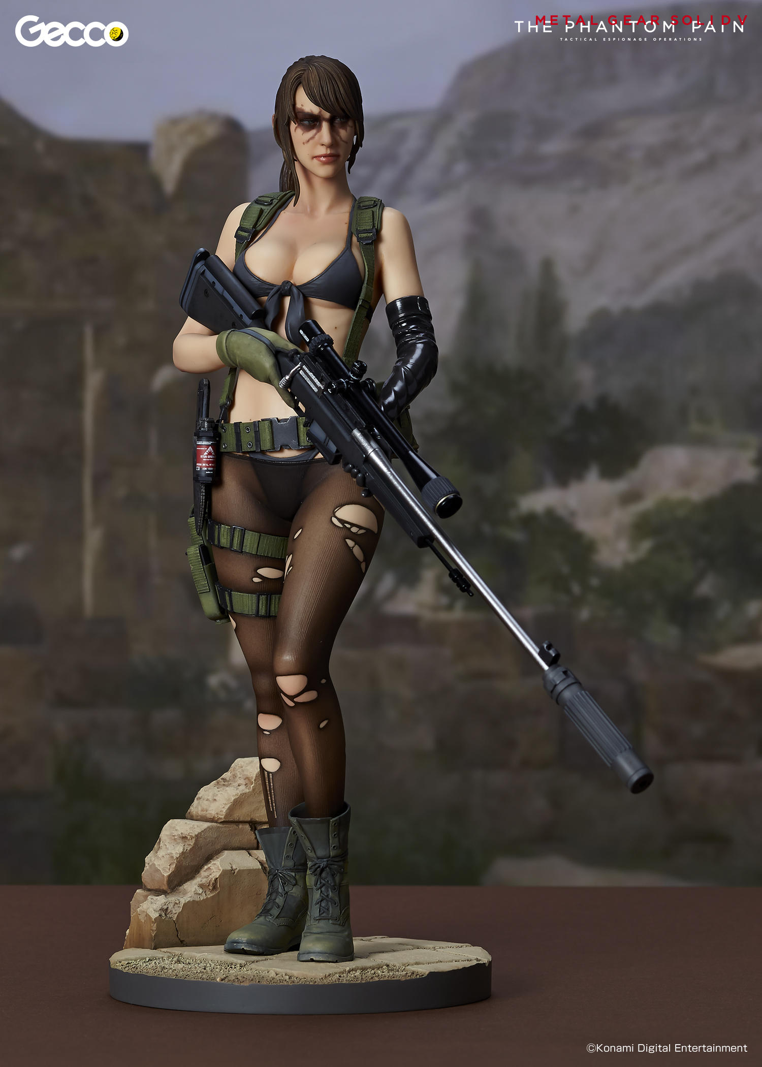 Metal Gear Solid V: The Phantom Pain - Quiet 1/6 Scale ...