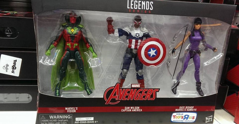 Marvel Legends Avengers 3 Pack 2