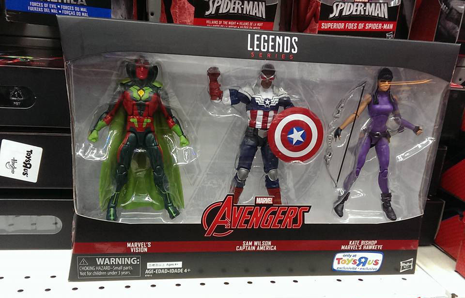 "Marvel Legends 6/"" Inch Toys R Us TRU 3-Pack Inifinty War Thor Loose Complete"
