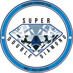 super double diamond badge