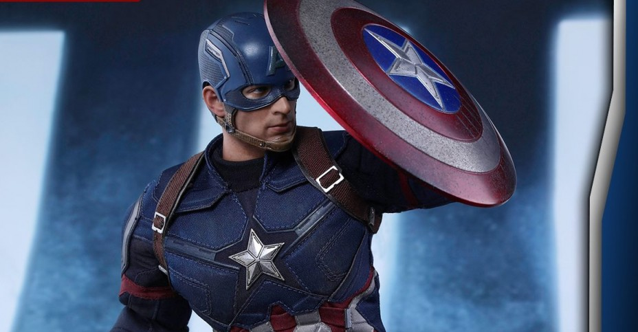 Civil War Captain America Battling Ver 003