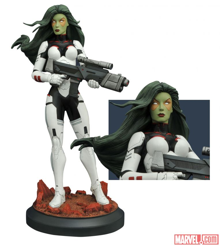 Marvel Premiere Collection Gamora Statue