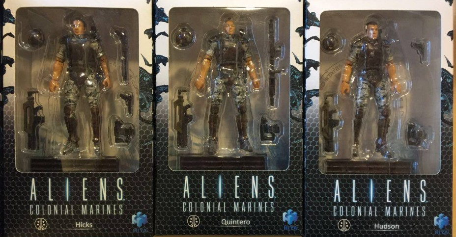 Hiya Aliens Colonial Marines Packged
