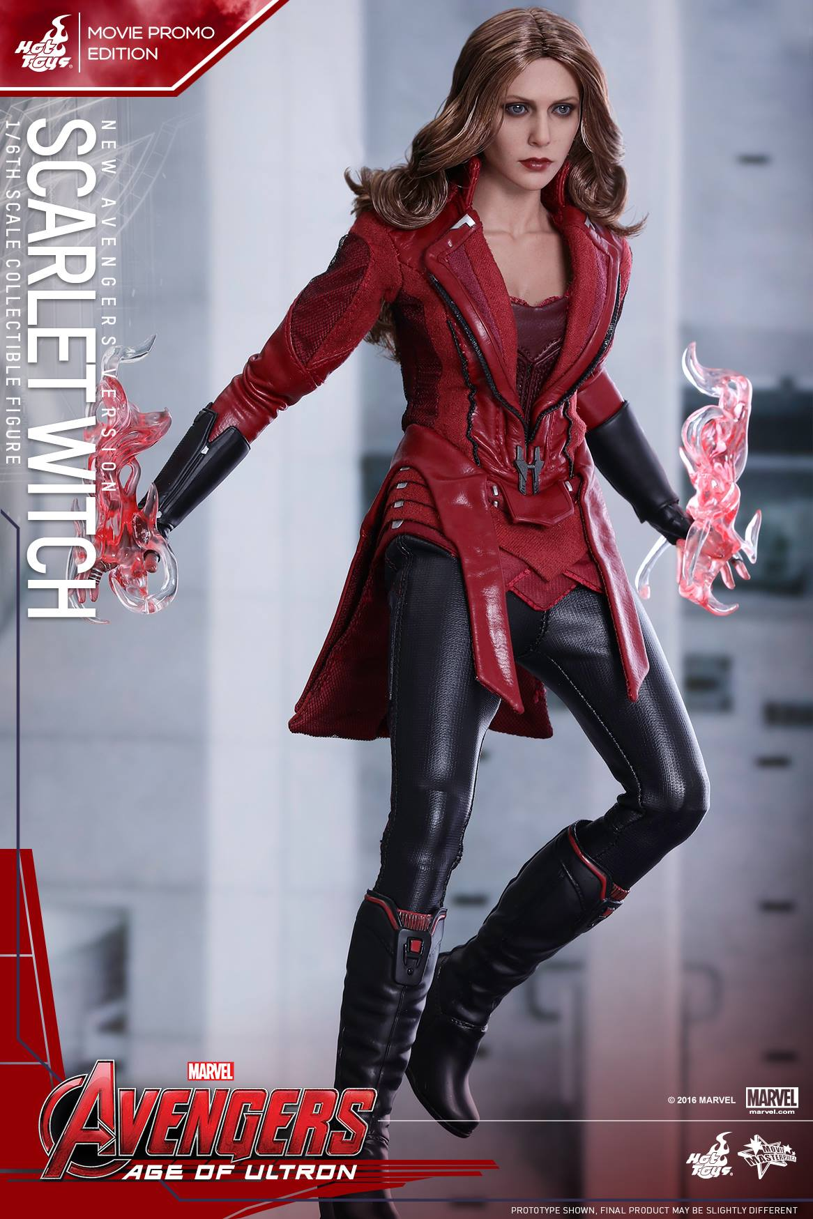 Age of Ultron Scarlet Witch New Avengers Version by Hot Toys - The ...