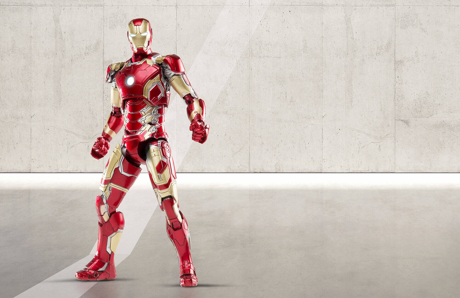 Diecast 1/12 Scale Iron Man Mark 43 by Comicave Studios ...