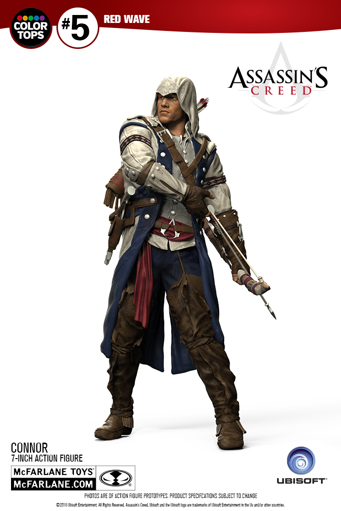 assassins creed iii connor figure by mcfarlane the