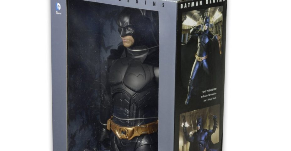 NECA Batman Begins Packaging