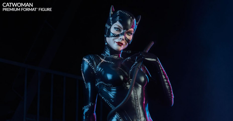 Sideshow Catwoman Statue 004