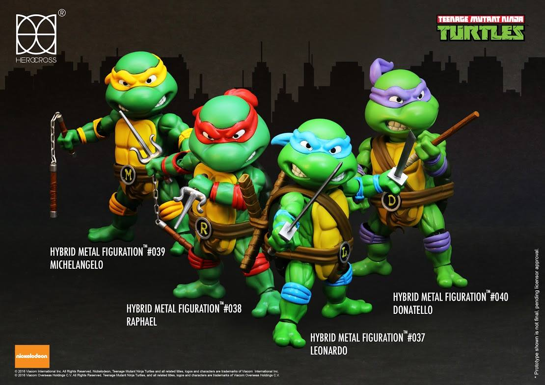 Herocross teenage mutant ninja turtles figures preview the toyark news - Rat tortue ninja nom ...