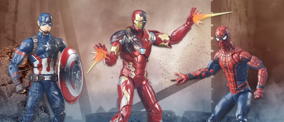 Captain America Civil War 3 Pack Available for Pre-Order