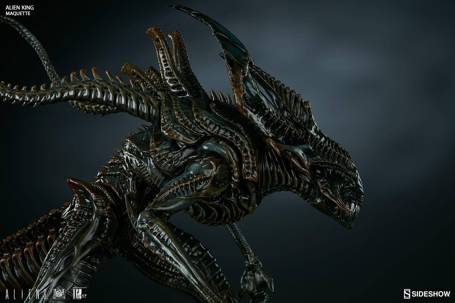 Xenomorph Emperor Alien King Maquette Ph...