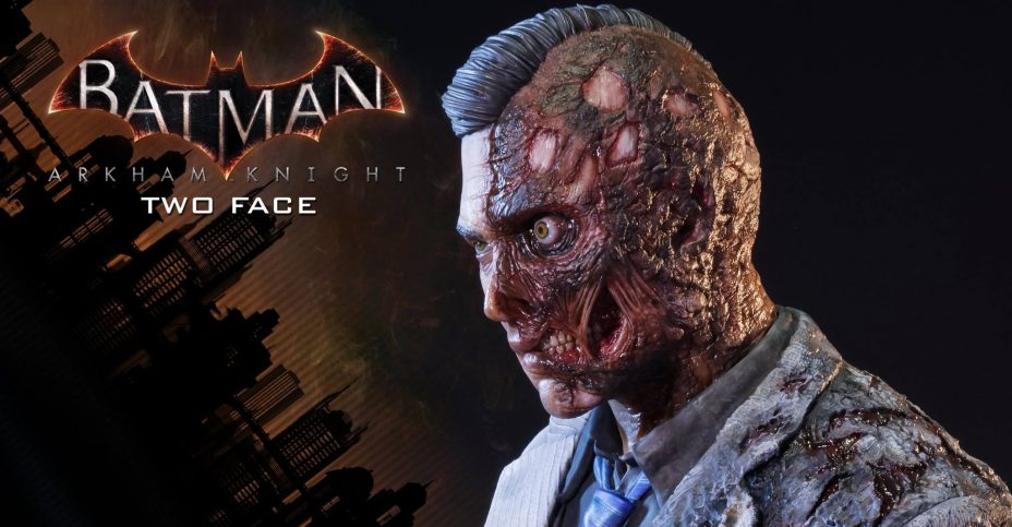 Arkham Knight Two Face Prime 1 Statue 012