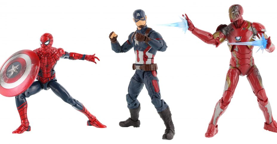 Captain America Civil War ML 3 Pack Group
