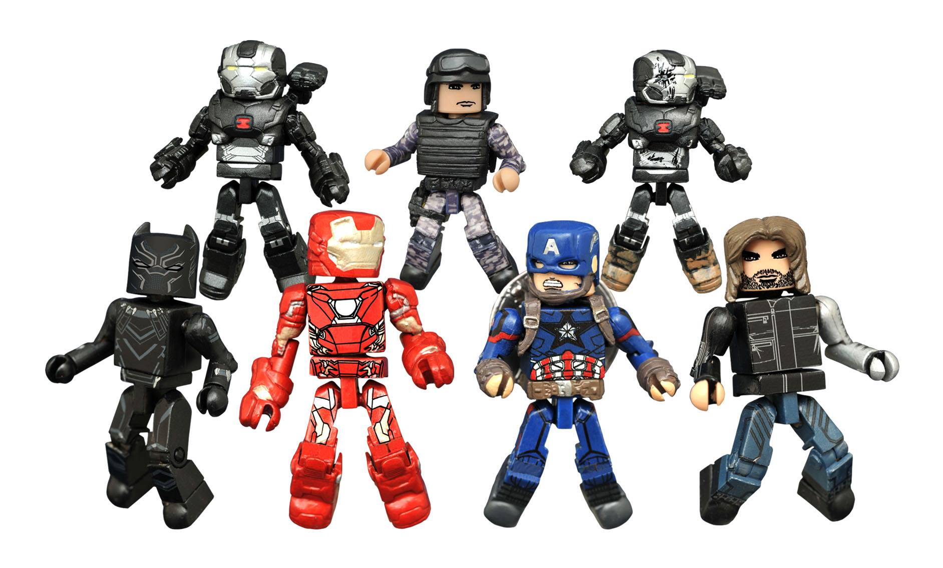 Learn How To Draw Falcon From Captain America Civil War: Ant Man And Falcon Minimates