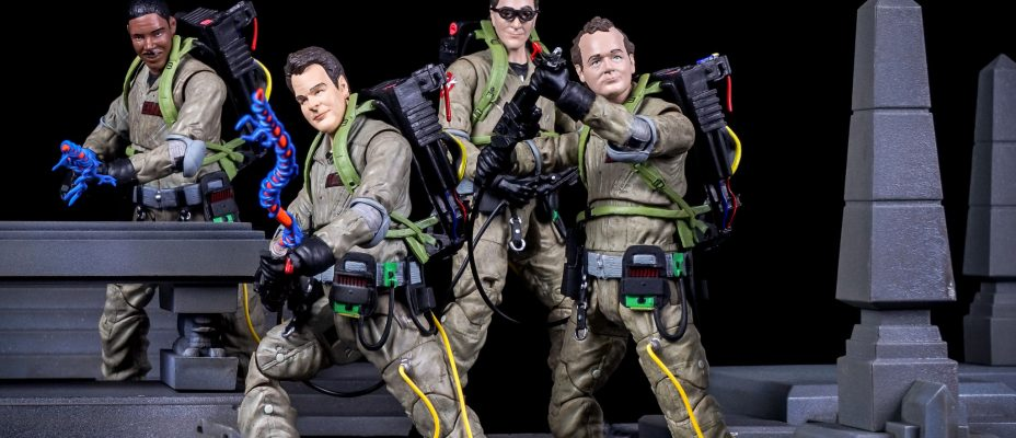 Ghostbusters Select Action Figures - Toyark Photo Shoot
