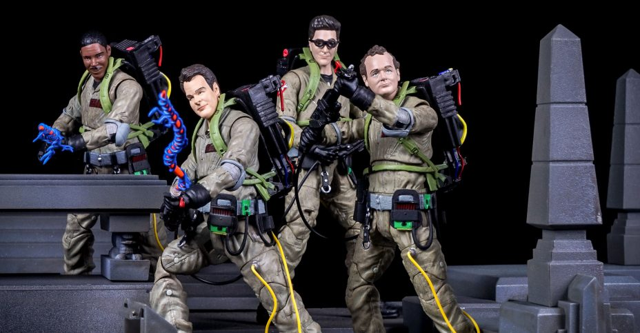 Ghostbusters Select Action Figures Toyark Photo Shoot