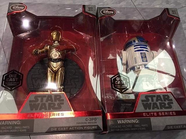 Star Wars Force Awakens Disney Store C-3PO Droid Elite Series Die Cast NEW