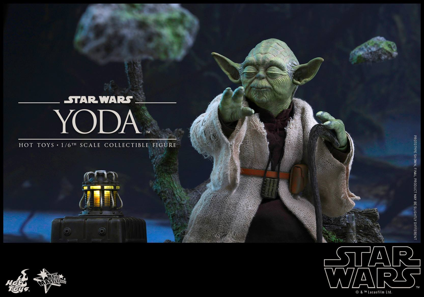 Hot Toys Star Wars The Empire Strikes Back Yoda Figure The Toyark News