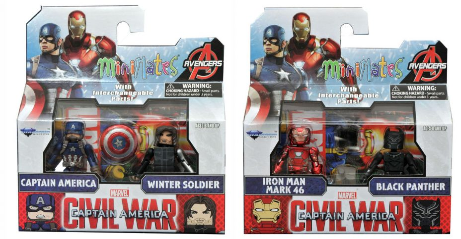Marvel Minimates S1 Civil War 1