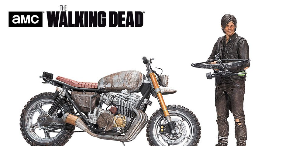 McFarlane Daryl with Bike Walking Dead