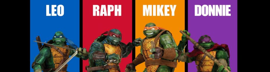 ThreeZero TMNT Painted Figures