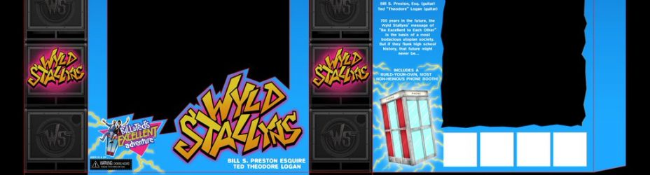 Wyl Stallyns Bill and Ted Packaging Preview