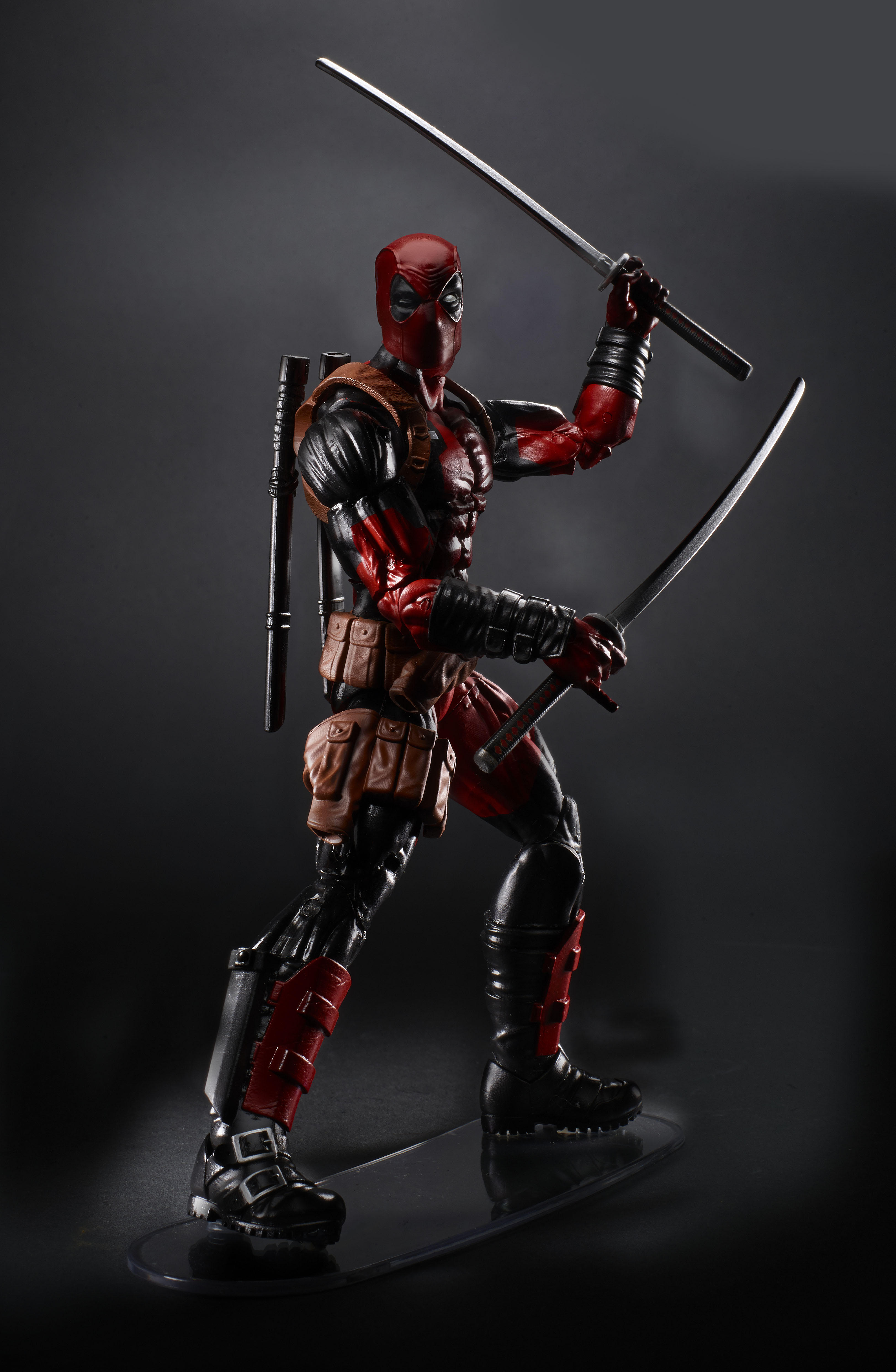 Marvel legends 6 inch scale wolverine and juggernaut build for Deadpool show