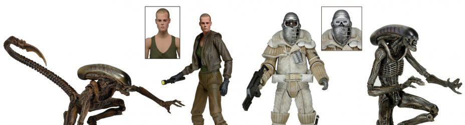 Alien 3 Figures by NECA